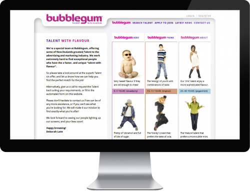 Bubblegum Talent Agency