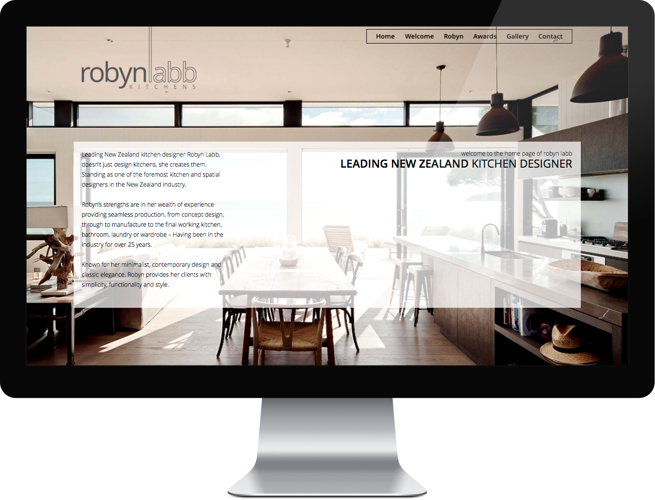 Robyn labb kitchens portfolio second mile internet solutions web design development Kitchen design course auckland