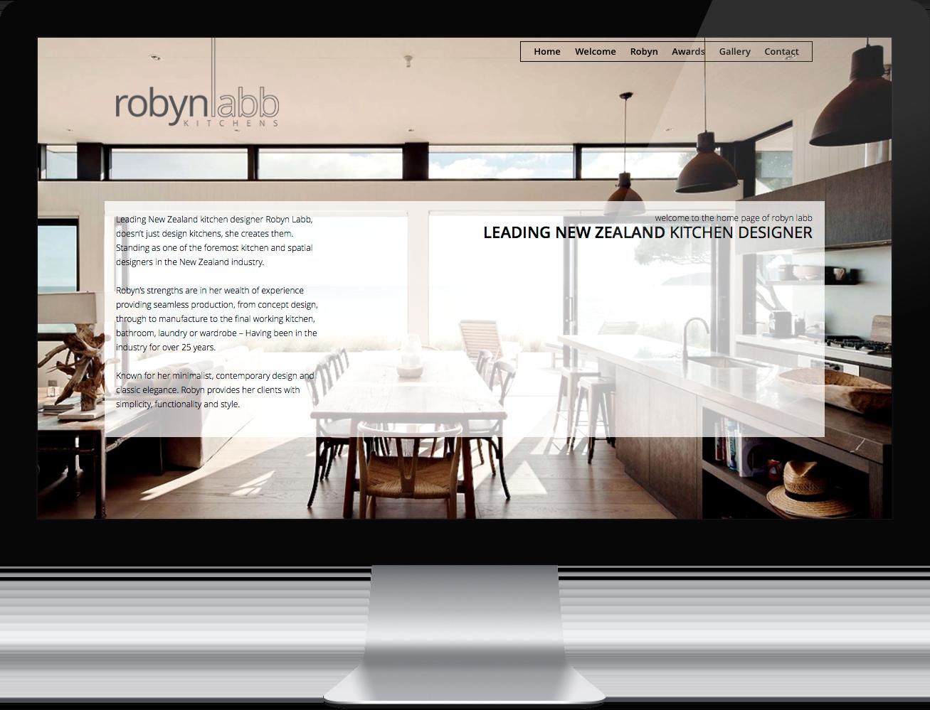 Robyn Labb Kitchens Portfolio Second Mile Internet Solutions Web Design Development