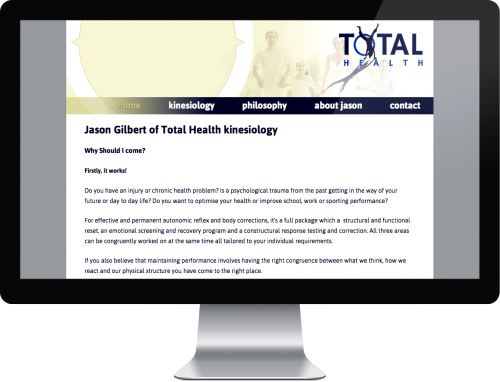 Total Health kinesiology