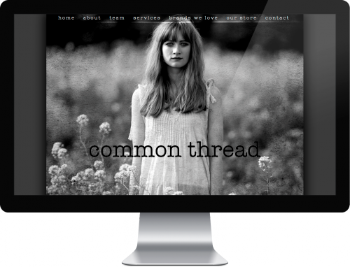 Screenshot of Common Thread